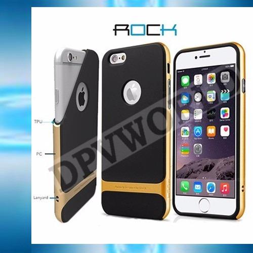 estuche iphone 7 case rock royce ultra delgado resistente