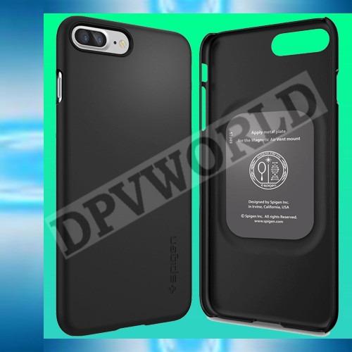 estuche iphone 7 plus spigen plastico resistente y elegante