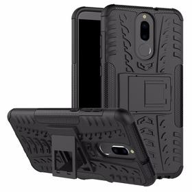 Estuche Jkase Huawei Mate 10 Lite +  Vidrio  Completo Negro
