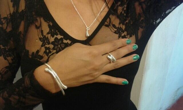 626468872beb Estuche Joyas Oro 18k Y Plata Anillo Collar Pulsera Regalo - S  169 ...