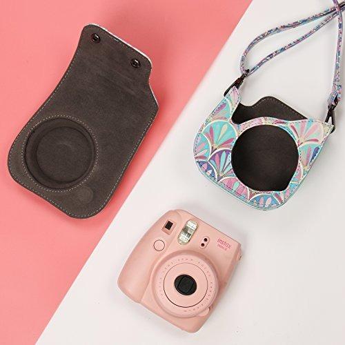 estuche katia para cámara instantánea fujifilm instax mini 9