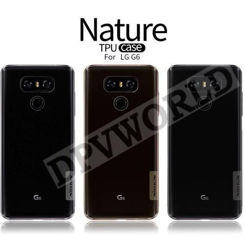 estuche lg g6 nillkin silicon transparente protector poster