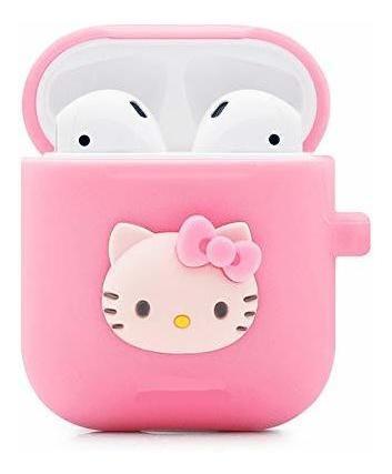 estuche logee kitty hello cat para airpods 1y 2 estuche de c