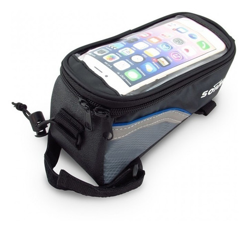 estuche maleta alforja bolso porta celular bicicleta grande