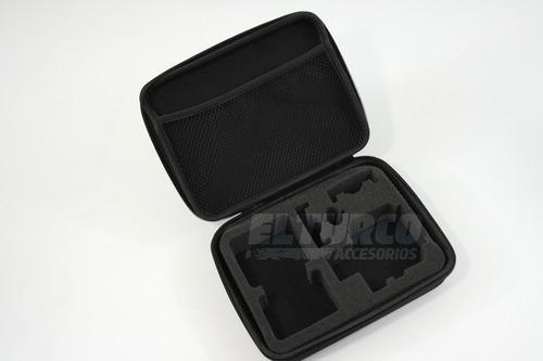 estuche maletin maleta camara gopro sockproof black plus
