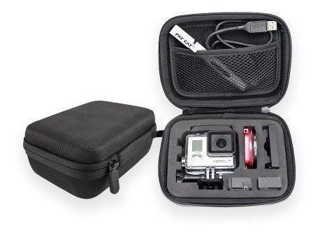 estuche mediano protector para cámara gopro / r3612