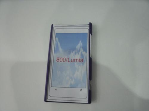 estuche mobo cover nokia 800 lumia