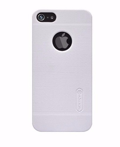estuche nillkin frosted blanco + pp  apple iphone 5 5s