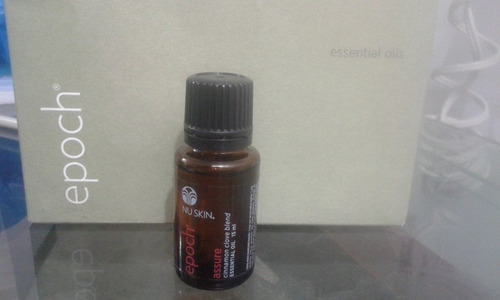 estuche nuskin epoch aceites esenciales
