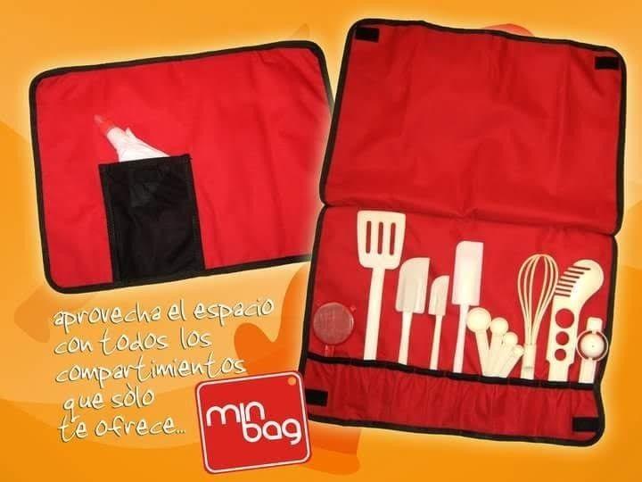 Estuche organizador para utensilios de cocina o for Organizador utensilios cocina