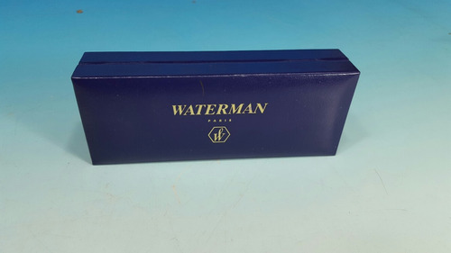 estuche original de lapicera waterman