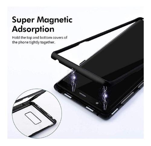 estuche original magnetico protector samsung note 10 plus