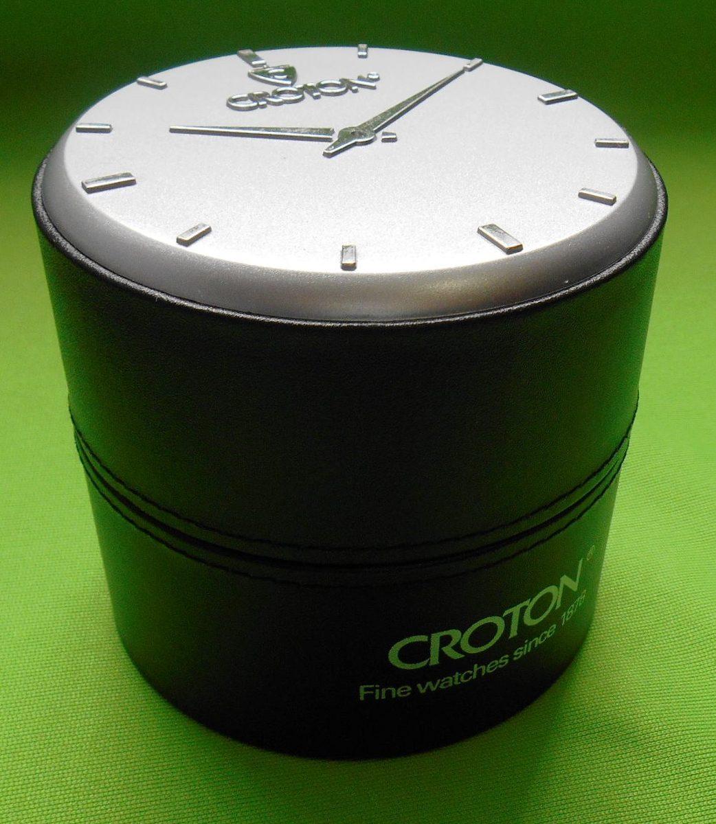Estuche Original Para Reloj Croton Fotos Reales Hm4