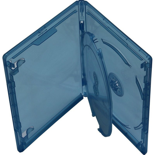 estuche para 3 discos blu ray viva elite 50 pzs