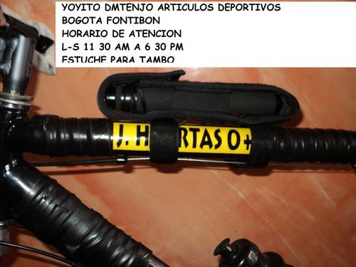 estuche para baston tambo retractill para bicicleta cicla
