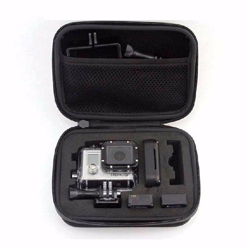 estuche para cámara 1080p gopro  impermeable y contra golpes