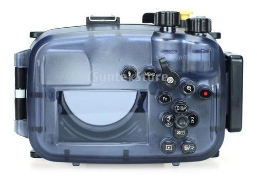 estuche para cámara 40 m/130 pies para sony a6300 con lente