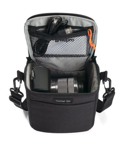 estuche para cámara format 120 lowepro negro