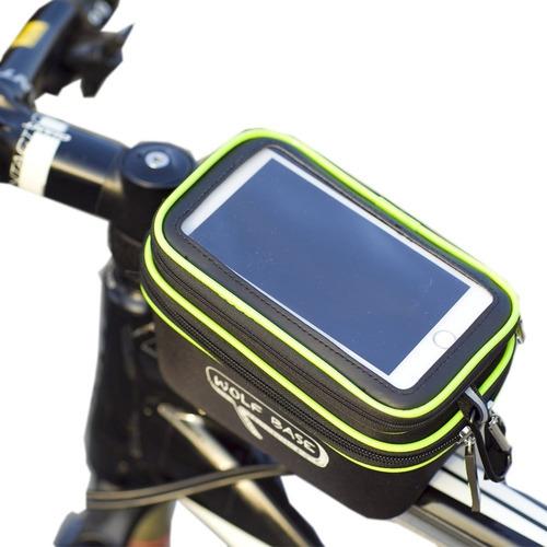 estuche para celular holder bicicleta resistente al agua