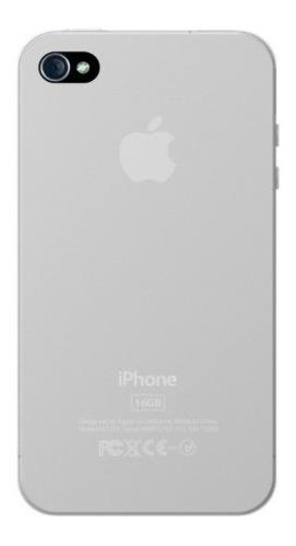estuche para iphone 4/4s xtrememac en blanco