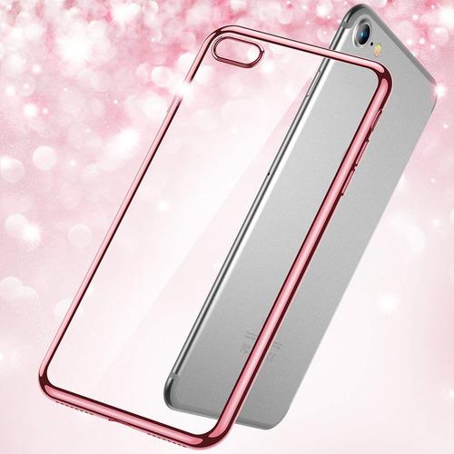 estuche para iphone 6s, [serie shine] estuche de cubierta su