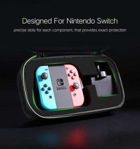 estuche  para nintendo switch marca ugreen calidad de lujo