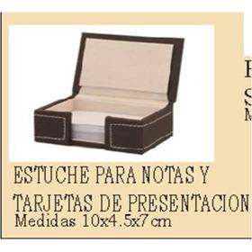 Estuche Para Notas Y Tarjetas De Presentacion