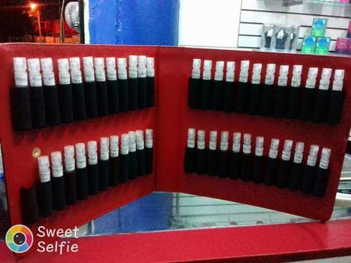 estuche para perfumes ideal para poner muestras