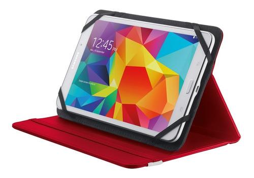 estuche para tablet 7/8¨ rojo primo netpc