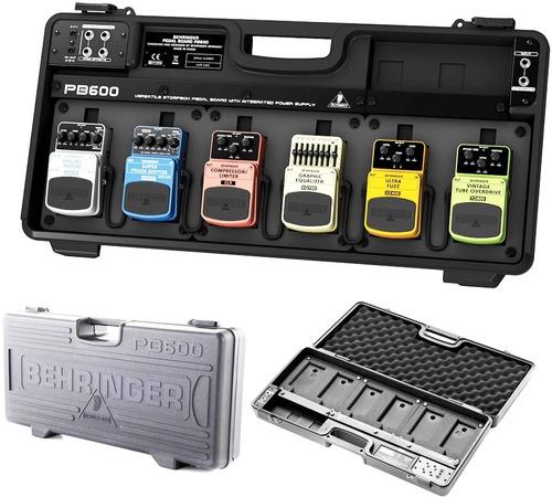 estuche pedales pedalboard behringer pb600 fuente incluida