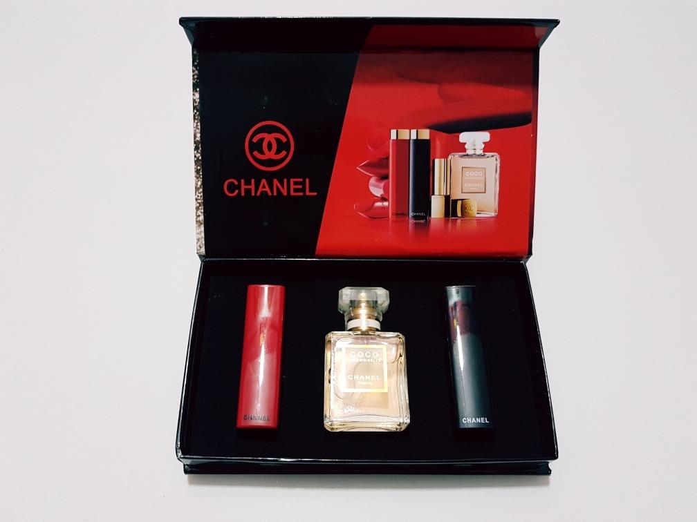 4af668afb Estuche Perfume Chanel - $ 320.00 en Mercado Libre