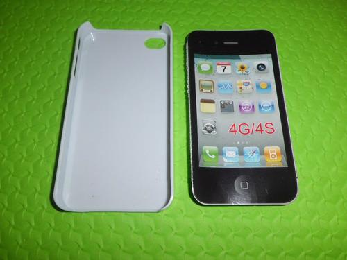 estuche plastico para iphone 4g/4s