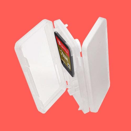 estuche porta cartuchos nintendo switch cartuchera tarjetas