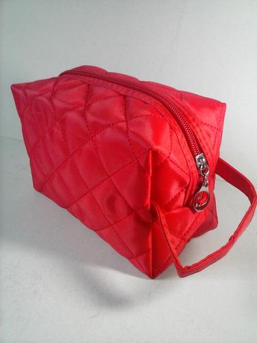 estuche porta cosmético bolso maquillaje diseño elegante