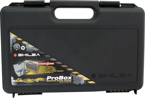 estuche porta pistola revolver cargador shilba probox