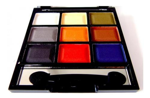 estuche portátil de sombras mate por 9 colores