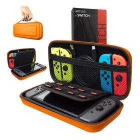 Estuche Portatil Viajero Nintendo Switch Case Funda Orzly