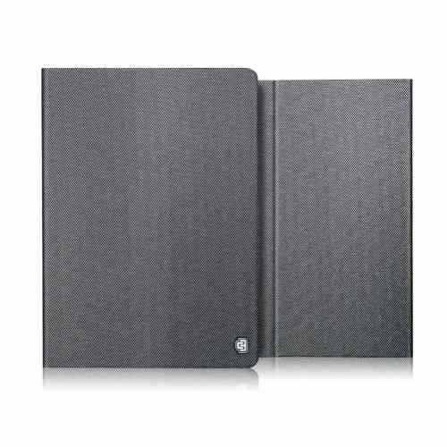 estuche protector agenda chabel metal square ipad-plata