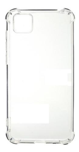 estuche protector antichoque alpha huawei y5p - transparente