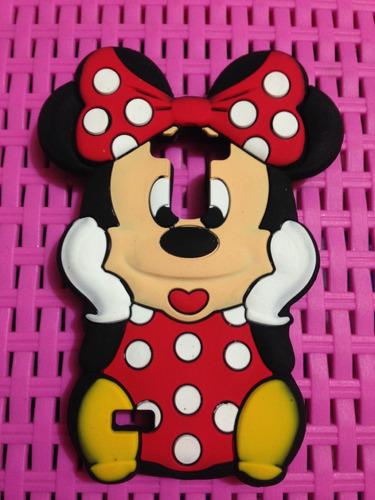 estuche protector case 3d stich minnie mouse lg g4 mini beat
