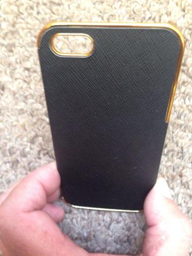 estuche protector cromado,de lujo para iphone 5, 5g