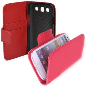 Estuche Protector Forro Cuero Samsung Galaxy S3 I9300 N9300