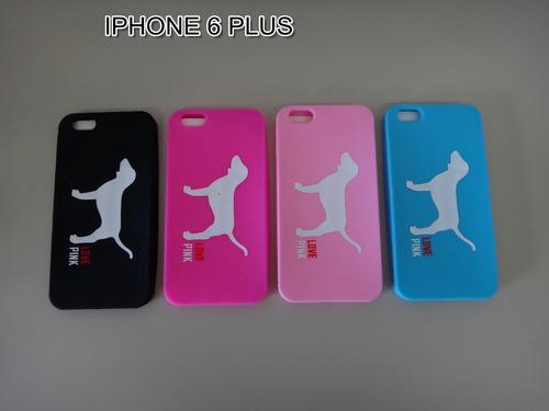 estuche protector forro pink iphone 6 6s plus envio gratis