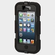estuche protector griffin survivor iphone 5 5s transparente