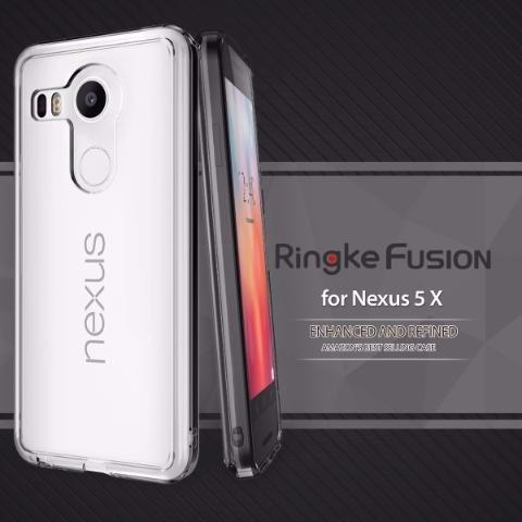 estuche protector hibrido ringke fusion nexus 5x