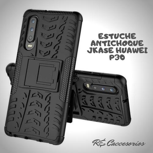 estuche protector jkase huawei p20 p30 p30 lite y7 y9 2018