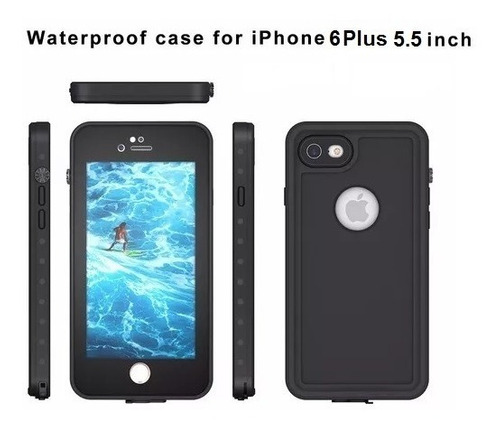estuche protector lifeproof iphone 6 plus redpepper
