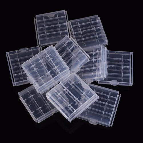 estuche protector para guardar pilas/baterias aa | aaa