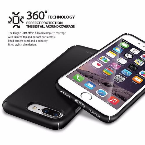 estuche protector ringke slim iphone 7 plus - gloss