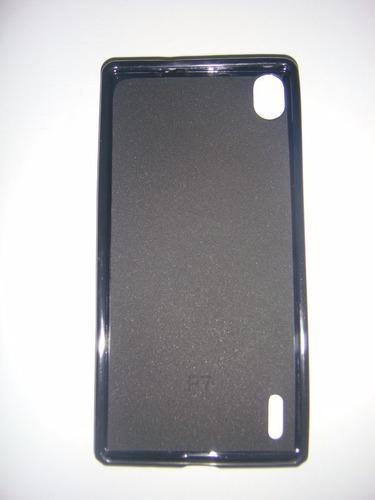 estuche protector silicon tp7 huawei p7